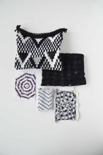 Black & white knit overview